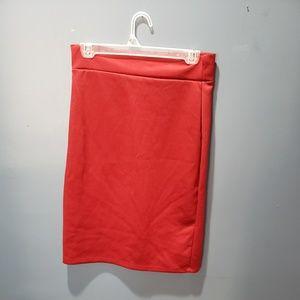 Dresses & Skirts - Burgundy Pencil Skirt